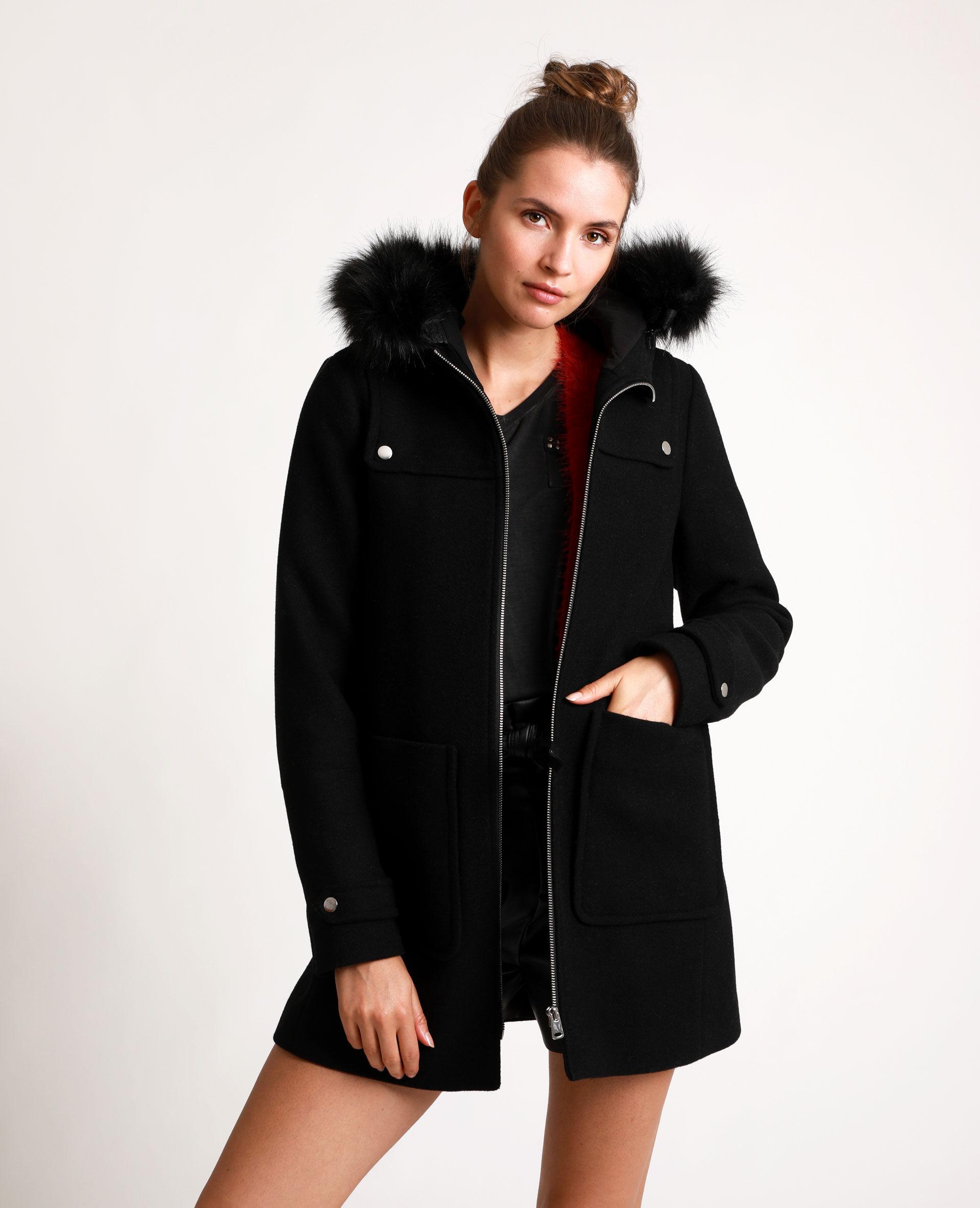 Manteau long femme massimo dutti