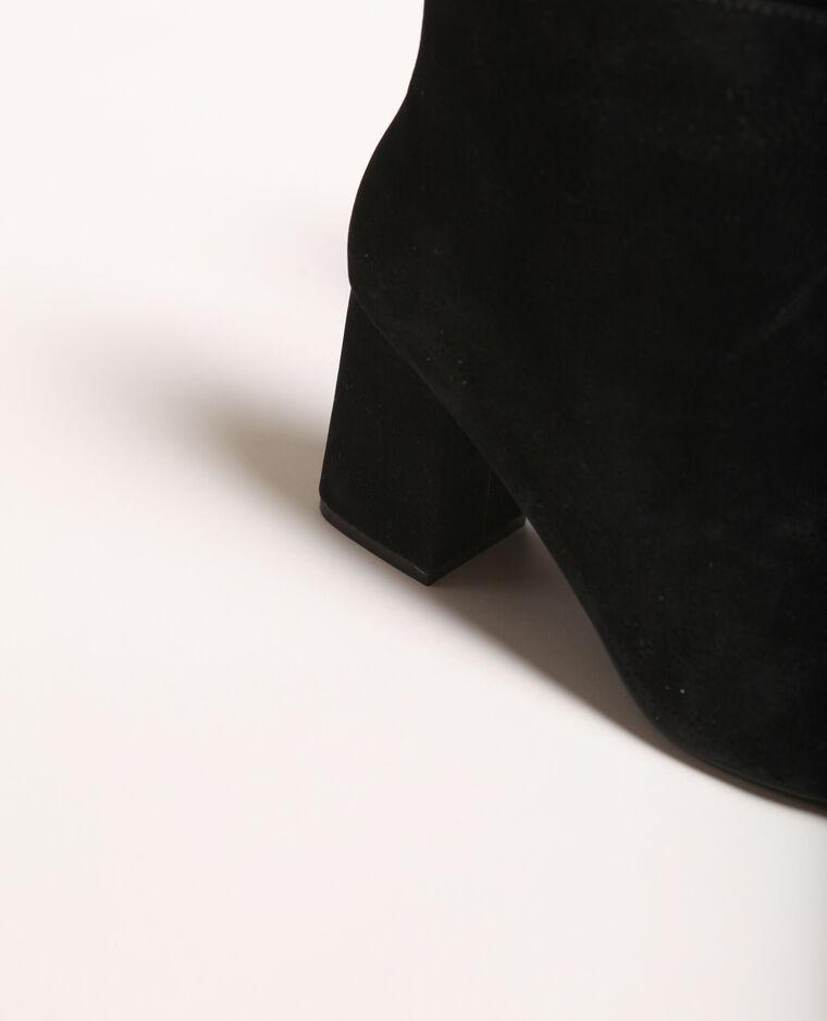 Bottines à talons noir