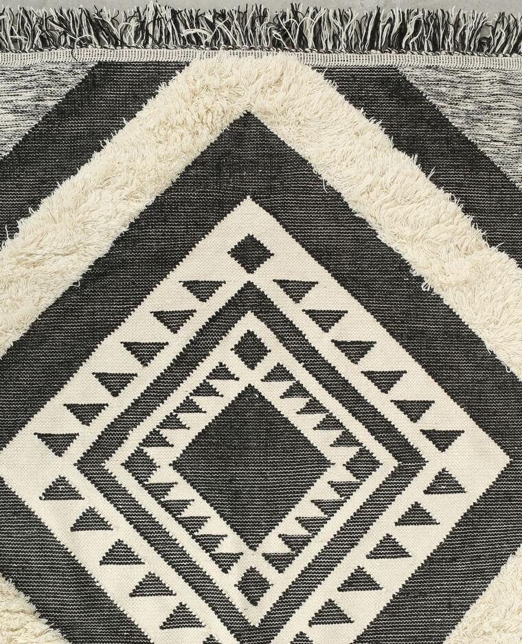 Grand tapis berbère gris