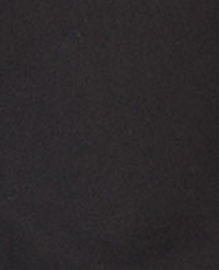Chemise bi-matière noir - Pimkie