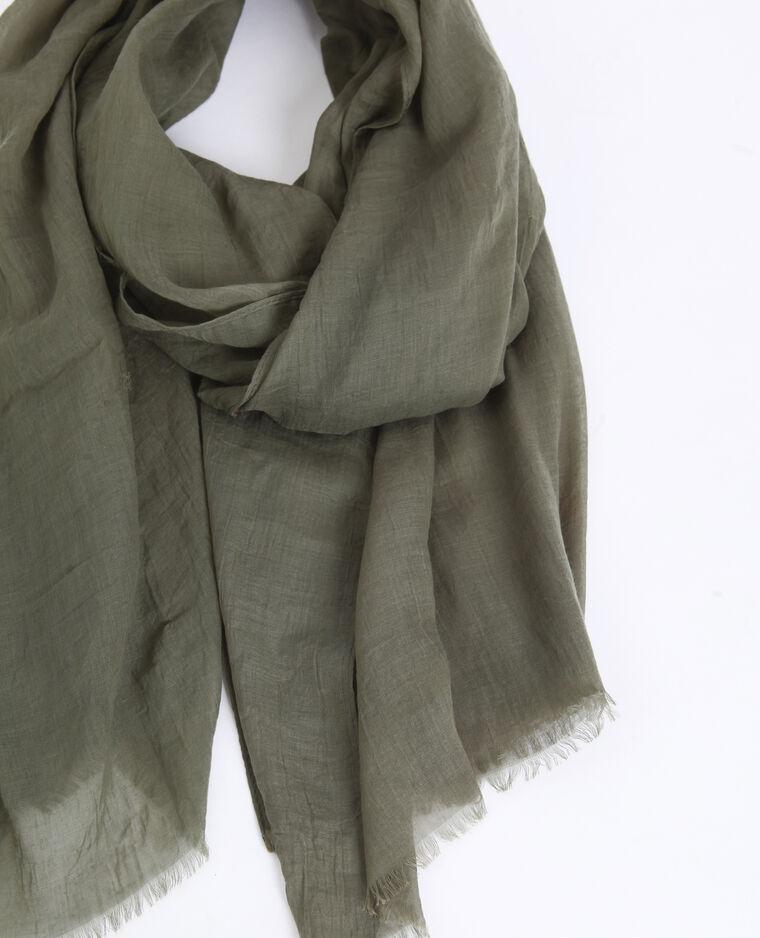 Foulard léger vert