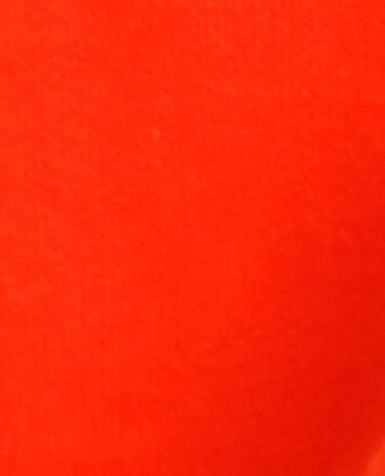 Sweat à message rouge