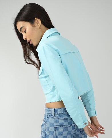 Veste en jean bleu denim - Pimkie