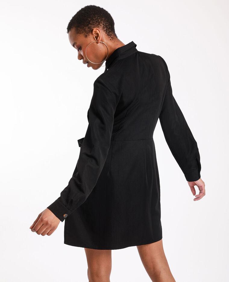 Robe portefeuille noir