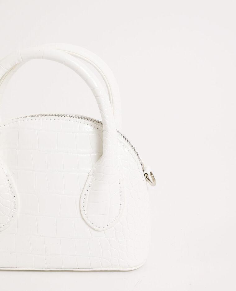 Petit sac à main blanc cassé - Pimkie