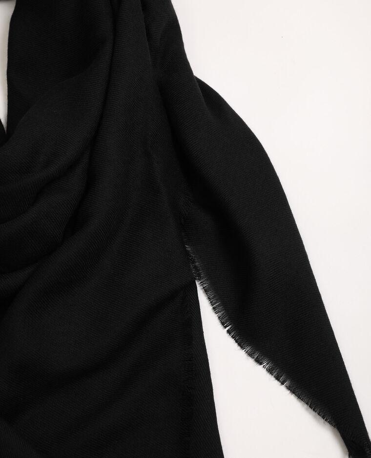 Foulard basique noir