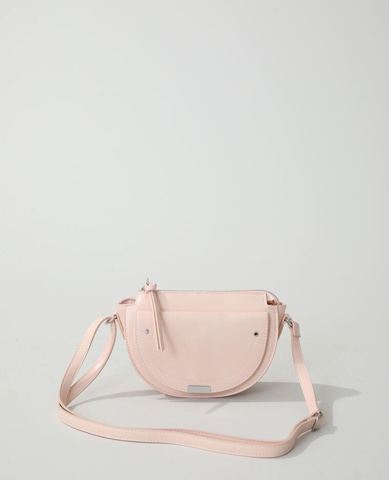 Mini sac bandoulière rose nude - Pimkie