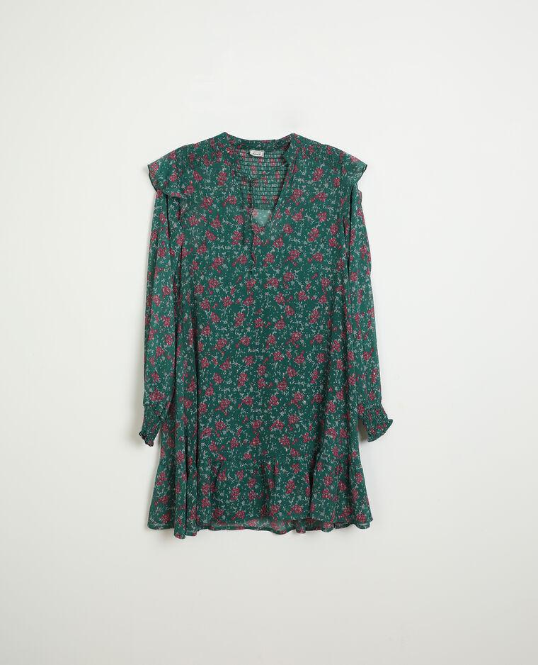 Robe tunique vert - Pimkie