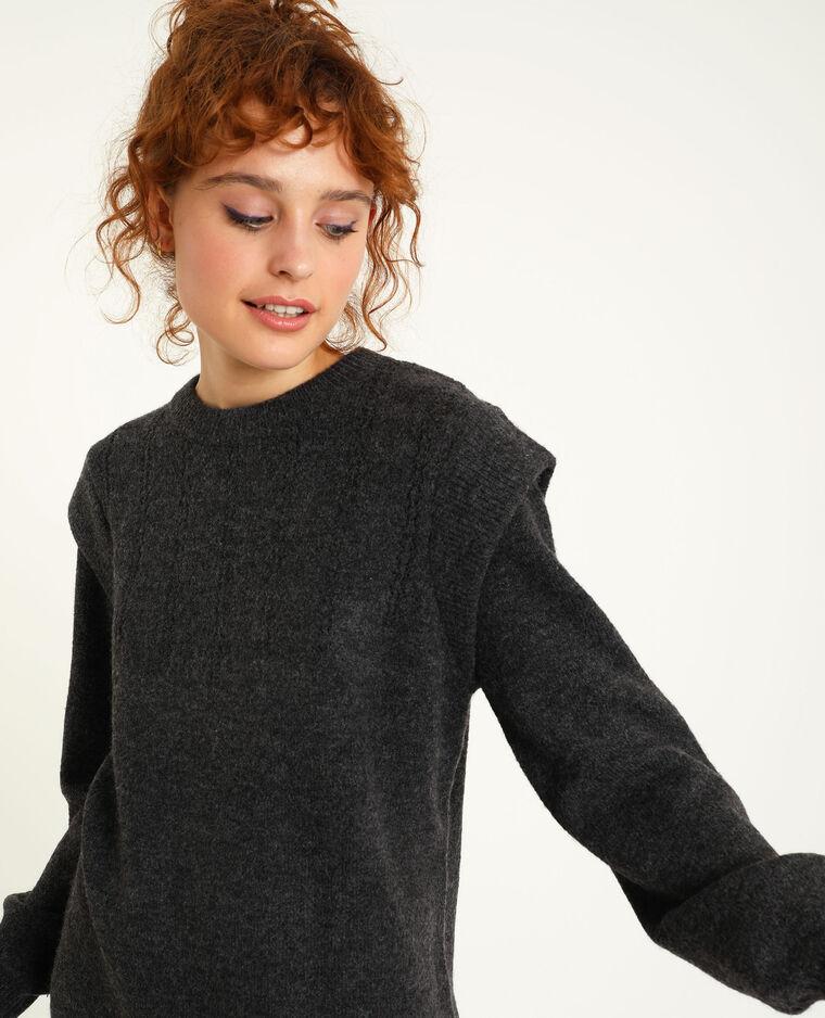 Robe pull gris