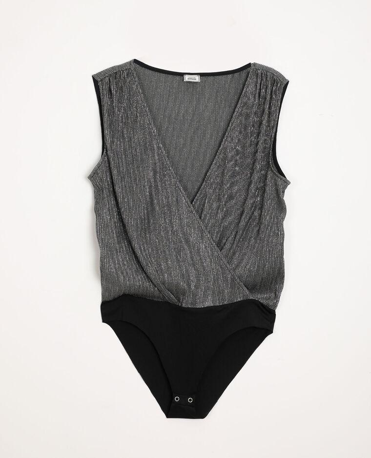 Body imprimé noir
