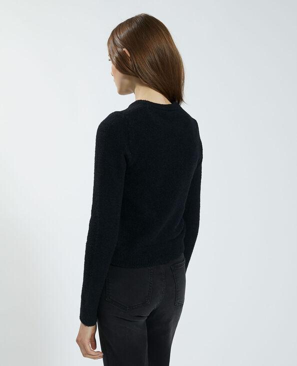 Pull doux noir - Pimkie