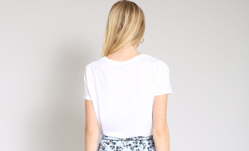 T-shirt amour blanc e12a6d300211