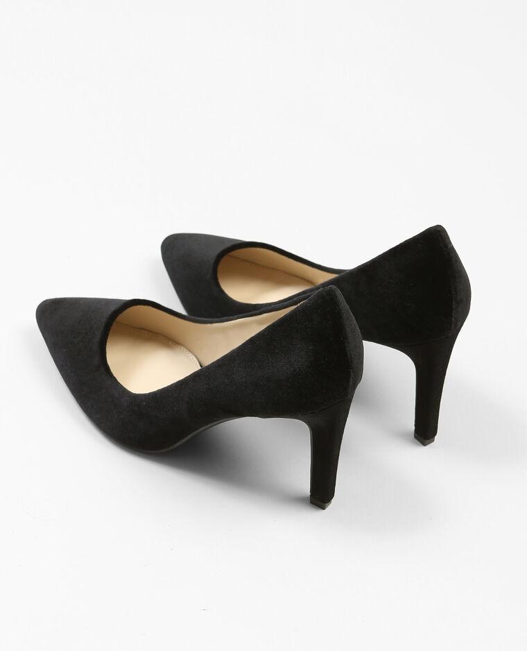 Escarpins velours noir