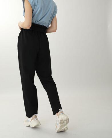 Pantalon taille haute noir - Pimkie