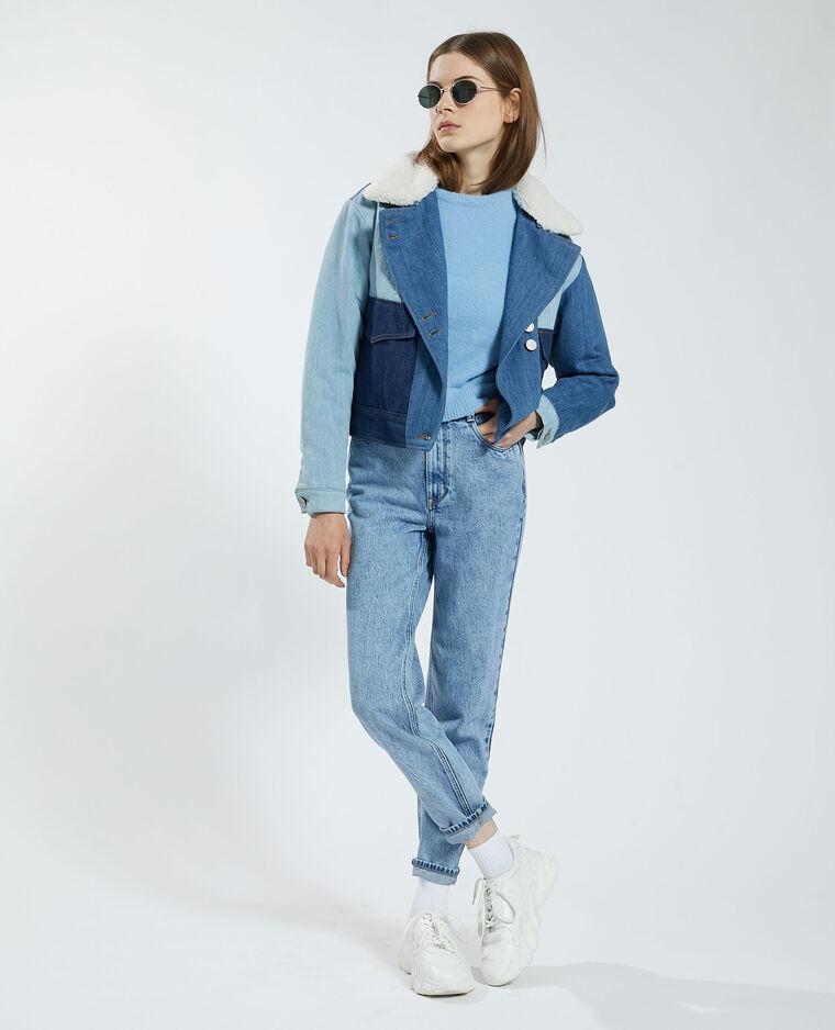 Pull doux bleu - Pimkie