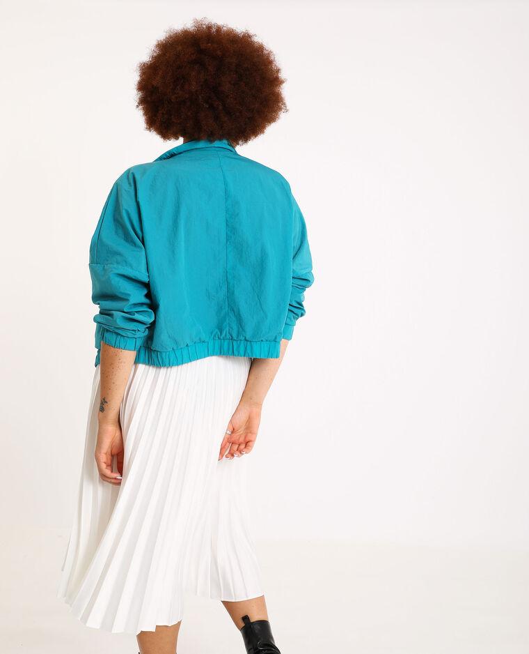 Veste courte bleu