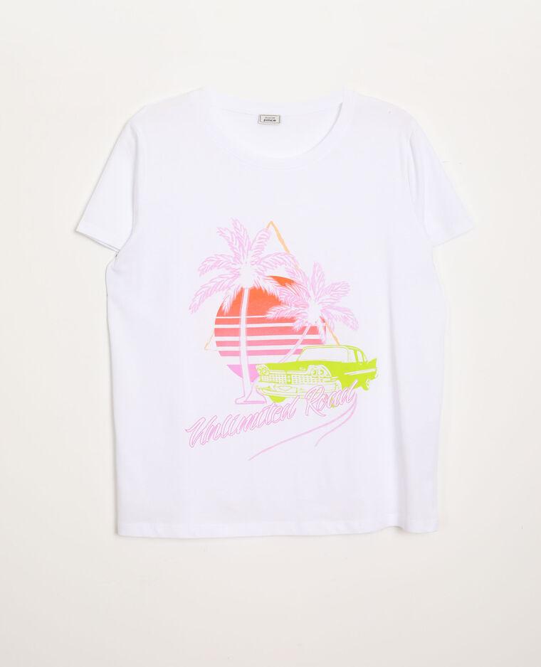 T-shirt graphique écru - Pimkie