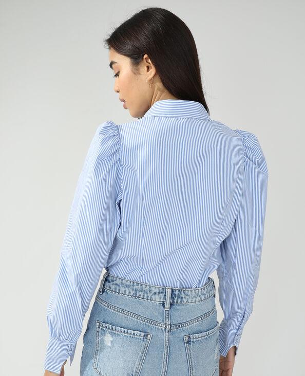 Chemise rayée blanc - Pimkie