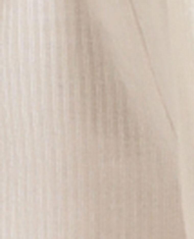 Combishort à fines bretelles blanc - Pimkie