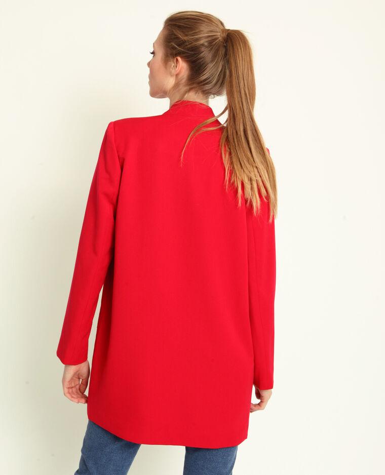Manteau léger rouge