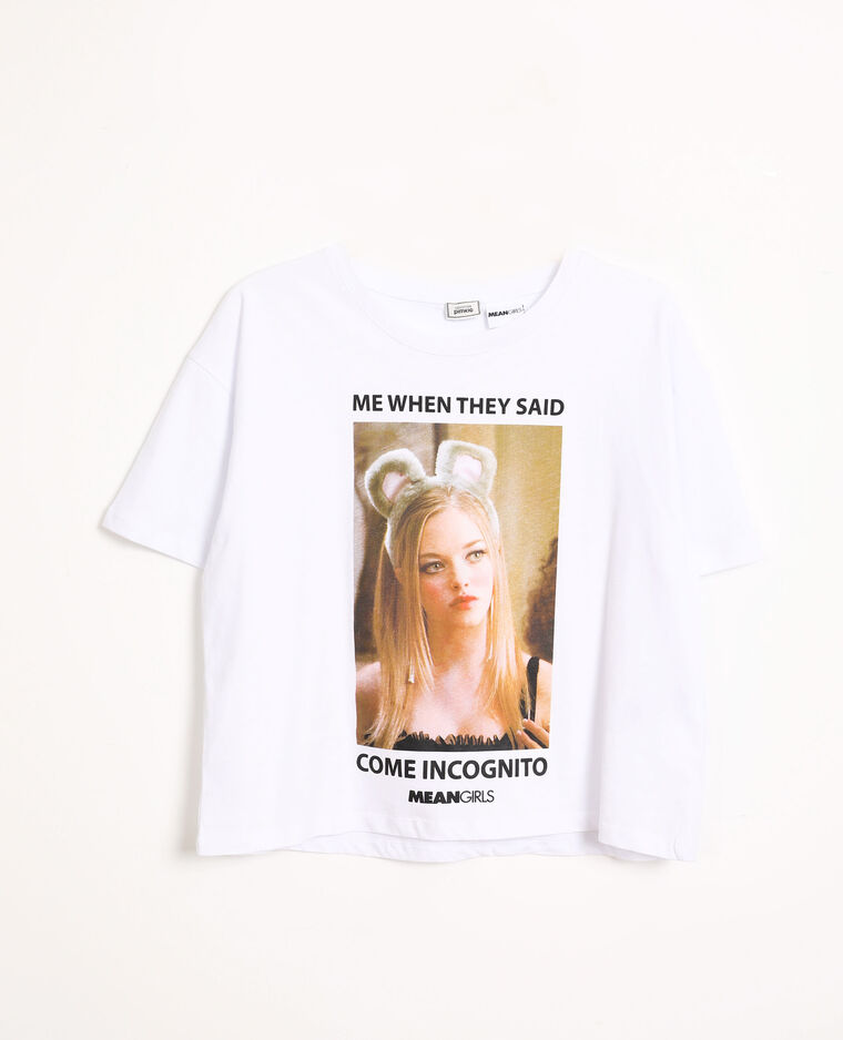 T-shirt Mean Girls écru
