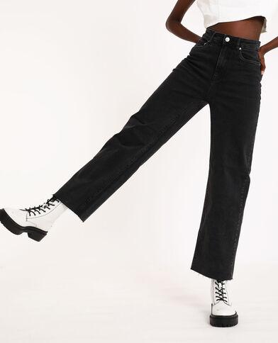 Jean wide leg noir