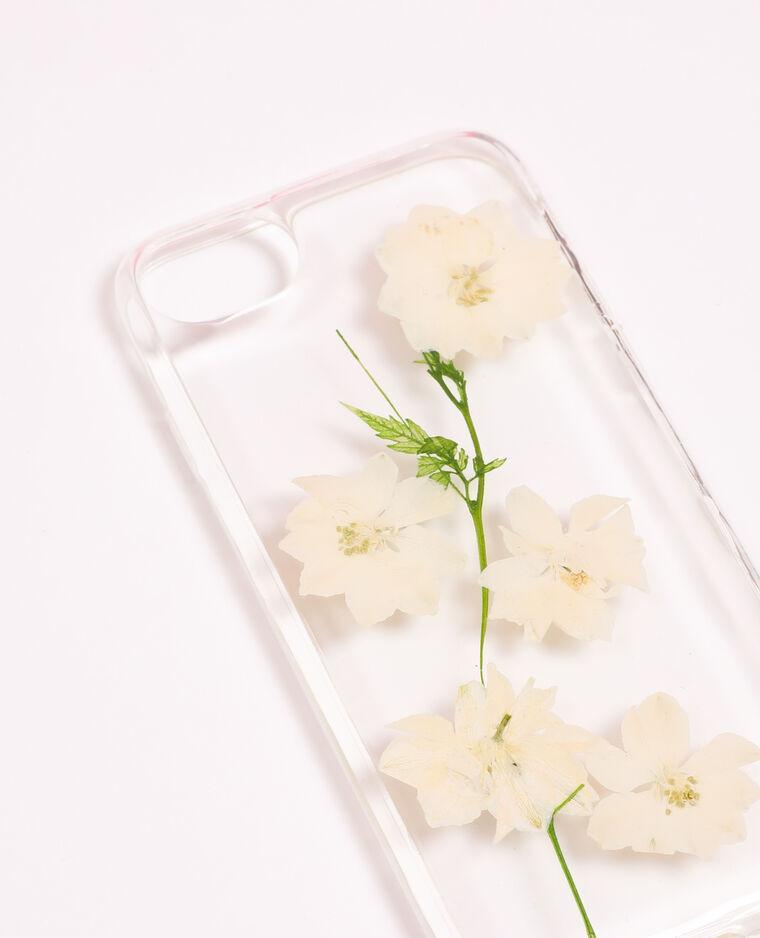 Coque compatible iPhone blanc - Pimkie