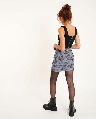 Jupe courte violet - Pimkie
