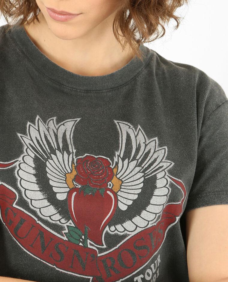 T-shirt Guns N'Roses bordeaux