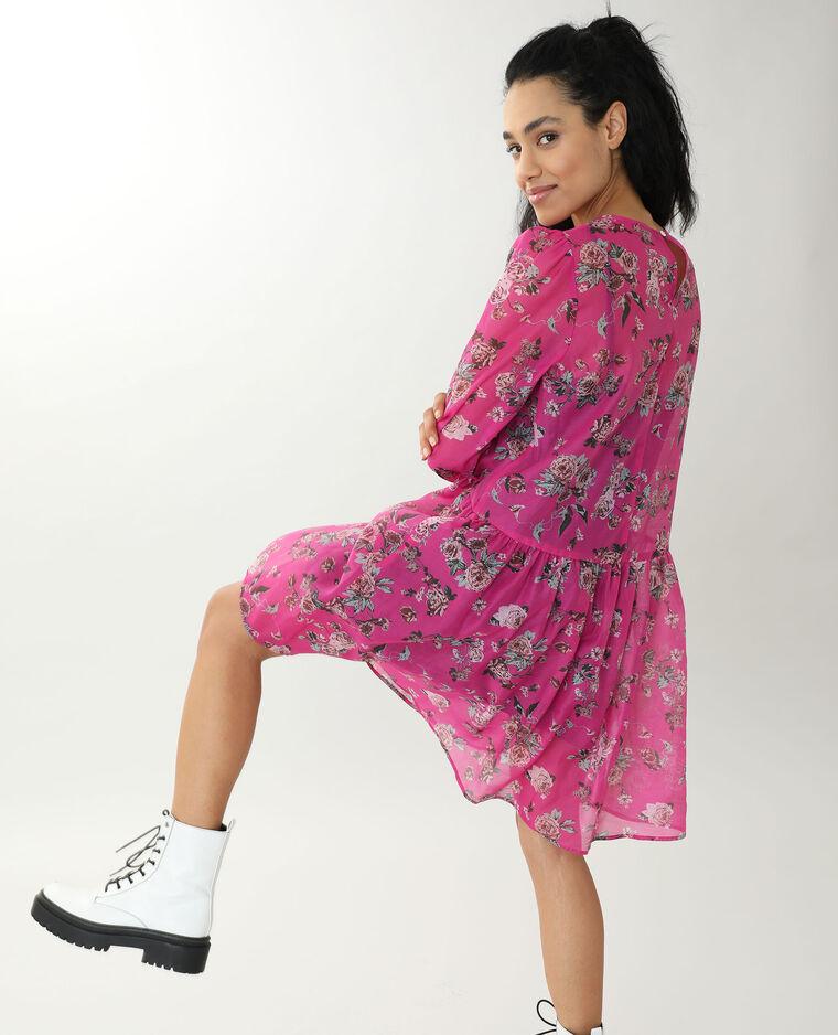 Robe courte rose - Pimkie