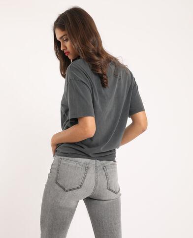 T-shirt La panthère rose gris foncé