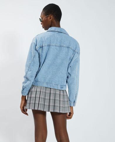 Veste en jean bleu - Pimkie