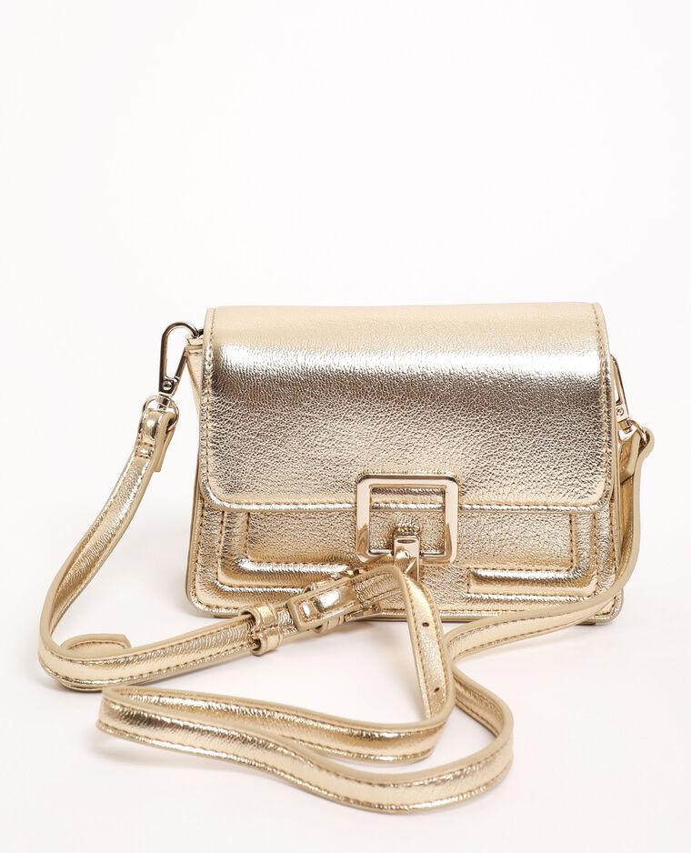 Mini sac boxy doré - Pimkie
