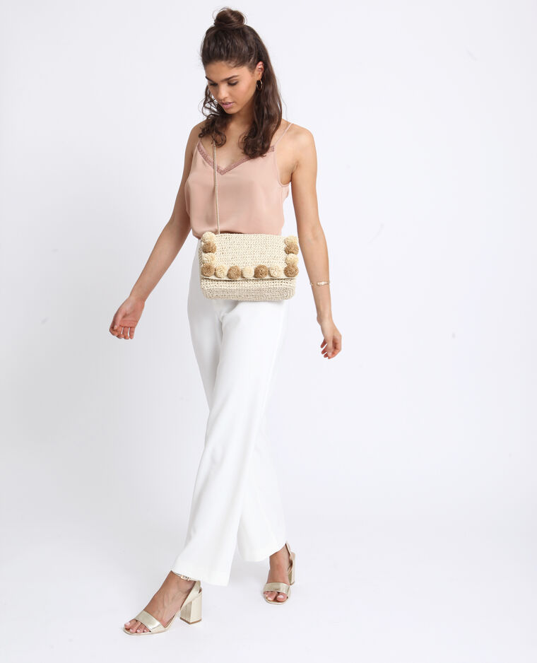 Pantalon fluide et large blanc
