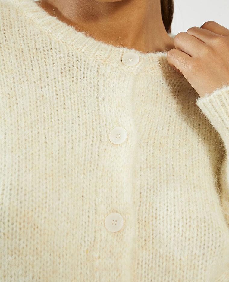Gilet boutonné beige - Pimkie
