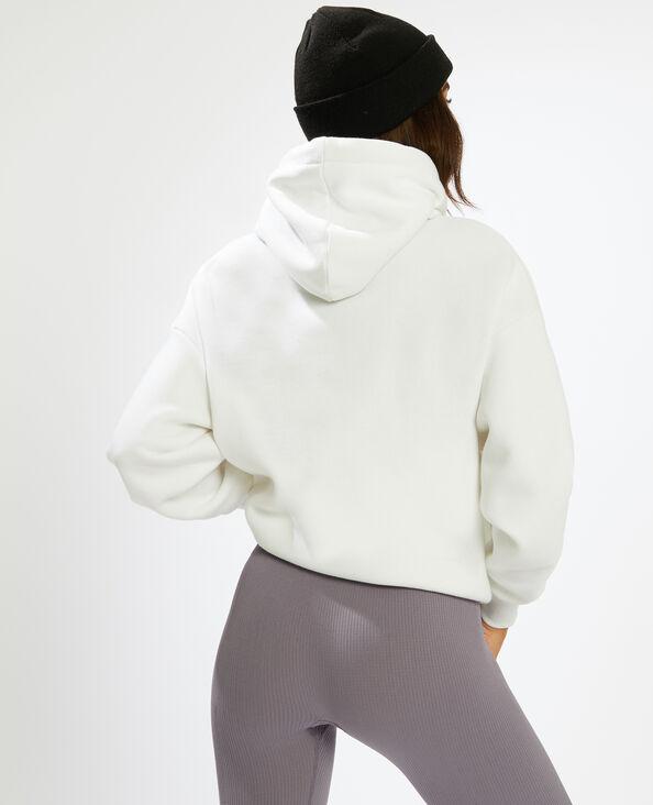 Sweat capuche blanc - Pimkie