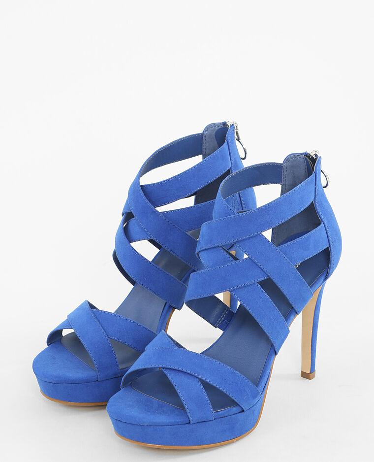 Talons Hauts Bleu Sandales À 902575618a0bPimkie R35jLc4qSA