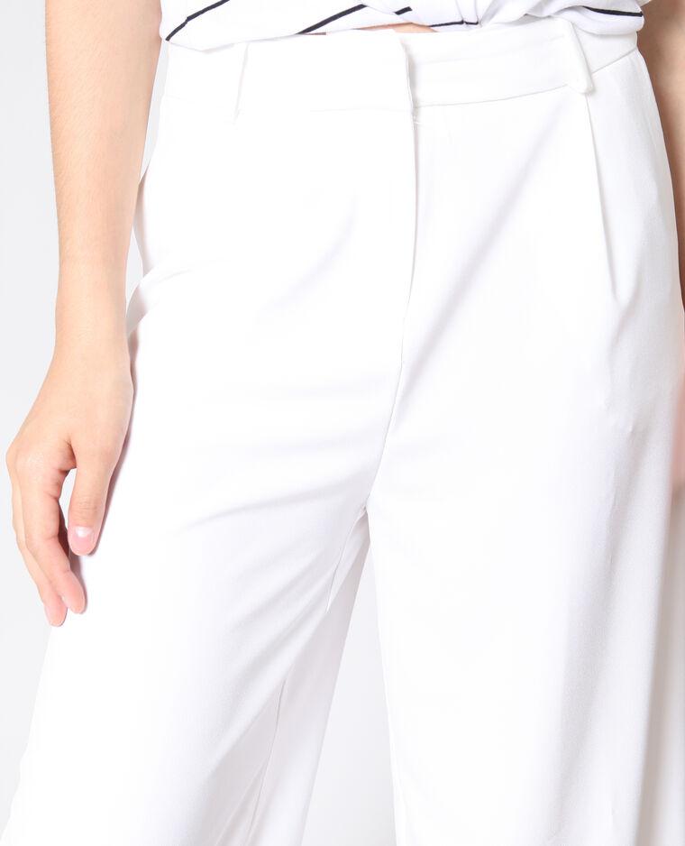 Pantalon large blanc