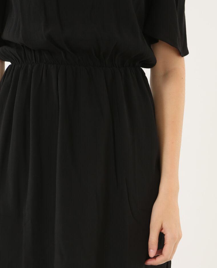 Robe bijoux peekaboo noir