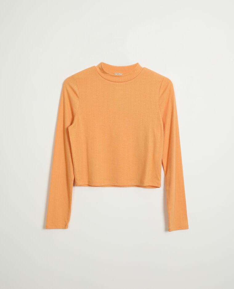 Top col montant orange - Pimkie