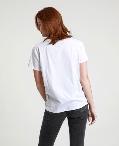 T-shirt Love Actually écru - Pimkie