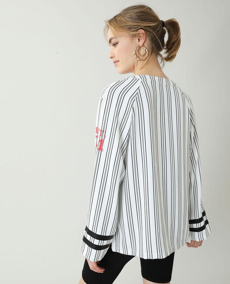Chemise de baseball blanc
