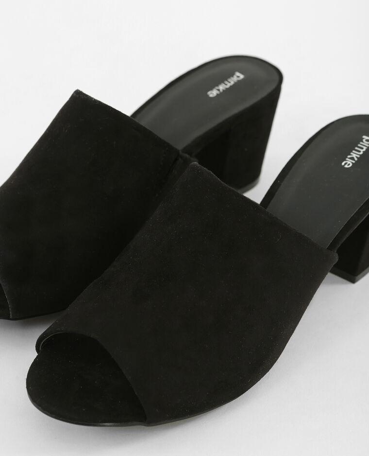 Mules noires noir - Pimkie