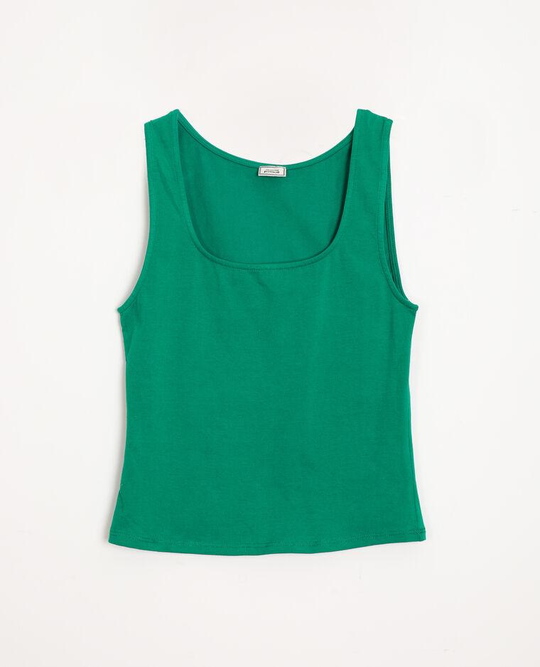 Débardeur basique vert