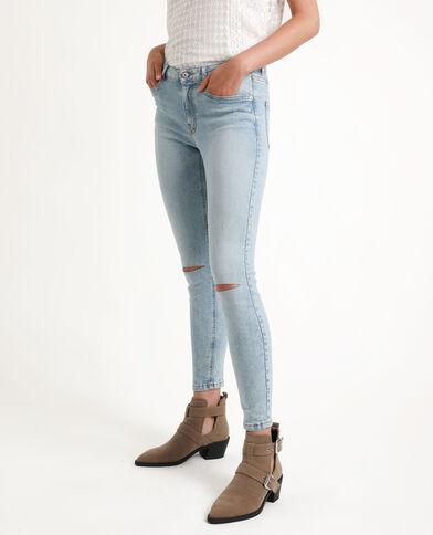 Jean skinny middle waist bleu clair