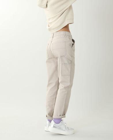 Pantalon droit beige - Pimkie