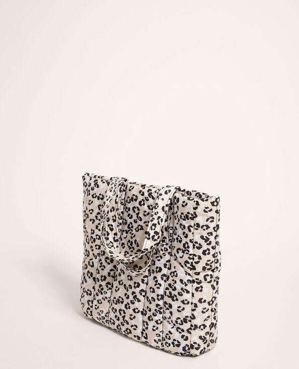 Sac cabas léopard matelassé beige - Pimkie