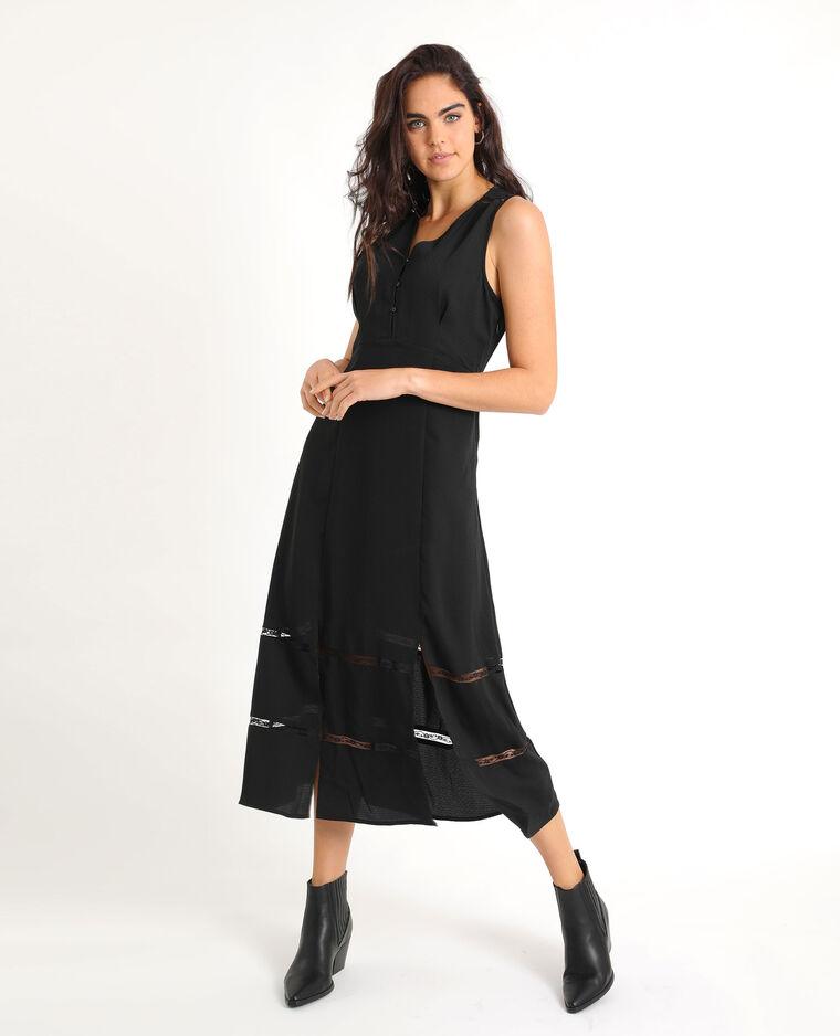 Robe longue noir