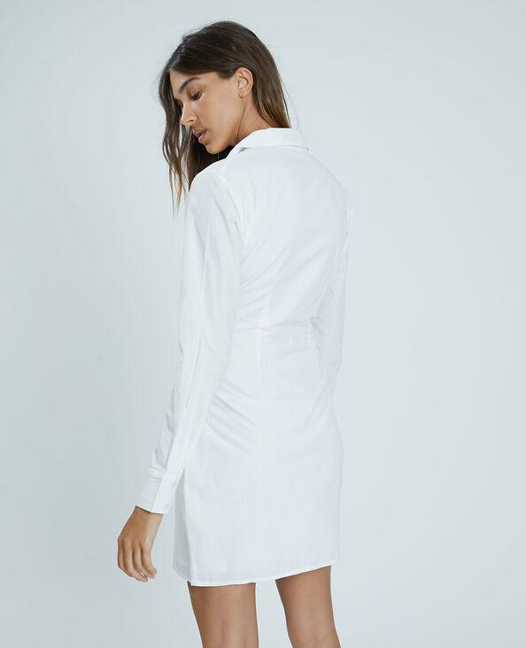 Robe chemise blanc cassé - Pimkie