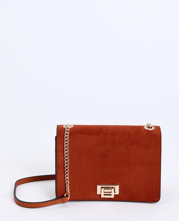 8478e54bef4c9 Petit sac à bandoulière marron